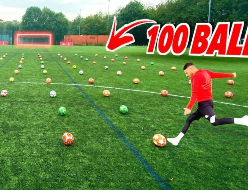 This 100 Ball Challenge is INSANE!